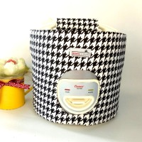 Cover magic com / tutup rice cooker - Houndstooth
