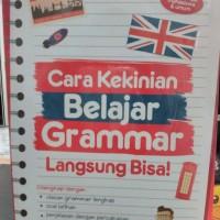 Buku Cara Kekinian Belajar Grammar Langsung Bisa - vz