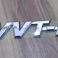 Emblem Logo VVTI VVT-I Kecil Vios Avanza Altis Rush Terios Xenia
