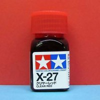 Tamiya X-27 Clear Red Enamel Paint