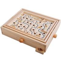 Big Labyrinth Solitaire Game / Game Keseimbangan / Permainan Bola