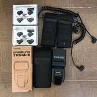 yongnuo YN 560 II for canon(paket strobist)
