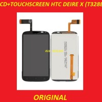 Lcd + Touchscreen Htc T328e Desire X Black 702230