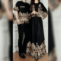 couple batik alice baju muslim sarimbit pasangan bagus murah