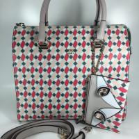 245e041c27 Guess Satchel Bag - Tas Wanita Authentic Original GA107 AZ
