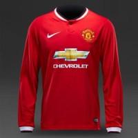 Jual Manchester United Home LS (LONGSLEEVE) GRADE ORIGINAL MIRROR ! (BEST) Murah