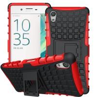RUGGED ARMOR Sony xperia Z2 Z3 Z3+ Z4 dual soft case casing back cover