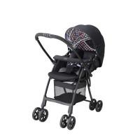 Aprica Karoon Plus High Seat Black / Stroller / Kereta Bayi