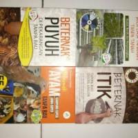 Obral buku Hidroponik & Peternakan