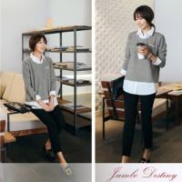 Jumbo Destiny Baju Atasan Wanita Bigsize Oversized Spandex Rayon Adem