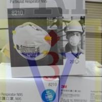 Masker 3M 8210 N95,mask particulate respirator,