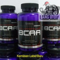 Ultimate Nutrition UN BCAA 500mg 120 Capsules Suplemen Fitness