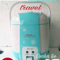 MASPION RICE COOKER MINI TRAVEL MRJ-051 (0.4LTR)