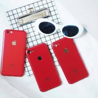 IPHONE 7 RED LOOK A LIKE CASE/HARDCASE/CASING IPHONE/CASE IPHONE 5 DKK