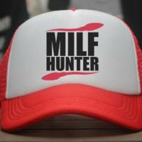 Topi Trucker Milf Hunter - Reove Store