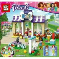 Jual mainan anak perempuan lego friends princes frozen girls Murah