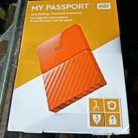 Jual WD My Passport New Design Portable Hard Disk Eksternal 1 TB RESMI Murah