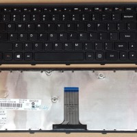 Keyboard Laptop Lenovo IdeaPad G400S G405S G400AS G400AM HITAM
