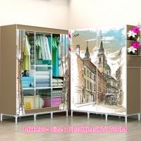 Jual MHR30 LONDON COFFE lemari pakaian ukuran besar JUMBO Murah