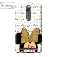 harga Custom Case Asus Zenfone 2  ( 5,5 Inch) Motif Minnie Mouse Love Tokopedia.com