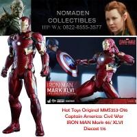 Hot Toys Original MMS-353-D16 IRON MAN - MARK 46/ XLVI 1/6 DIECAST