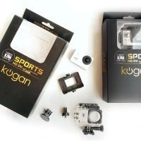 Kogan Wifi 12MP HD Sports Action Camera 1080p Video