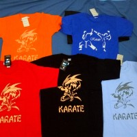 Kaos karate / Tshirt / Polo / Kaos Olahraga Murah Merk Warrior Ori