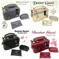 Tas Doctor gucci 2 in 1 Diamond