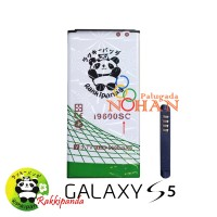 Baterai Rakkipanda For Samsung S5 i9600 Replika Double IC Protection