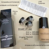 SHARE IN JAR - GIORGIO ARMANI LUMINOUS SILK FOUNDATION ORIGINAL 100%