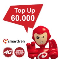 Top Up 60.000 Bonus Kuota Hingga 30GB (Khusus Produk Andromax)