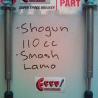 shock breaker / SKOK / SEKOK SUZUKI SHOGUN 110 dan Smash Lama