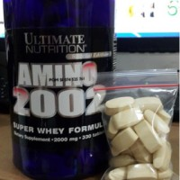 AMINO 2002 ECER ULTIMATE NUTRITION