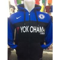 Jual Sweter Jamper CHELSEA Bola Mania Pakaian Korea Jaket Varsity Pria 8 Murah