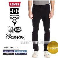 Jual Celana Jeans Pria Hitam DC/VANS/CHEAP MONDAY/LEVIS/LOIS/PSD Murah