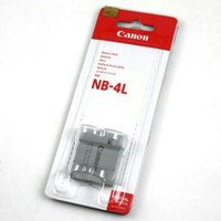 Canon NB 4L baterai for ixus 120 130 115 255 SD200 SD300 50 40 NB4L