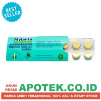 Mylanta Tablet - Obat Kembung, Maag, Asam Lambung, Sakit Perut