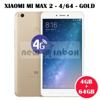Xiaomi Mi Max 2 - Gold - Dual Sim - Ram 4gb - Internal Memory 64gb