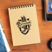 Ravenclaw - Hogwarts / Harry Potter Ring Notebook