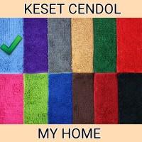 KESET CENDOL DOFF MY HOME - Microfiber, Anti Slip - WARNA BIRU MUDA
