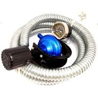 Regulator Kompor Gas LPG Destec COM 201-MSS dengan Selang