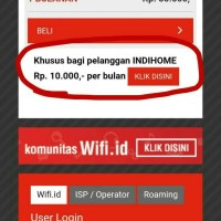 Wifi Id indihome