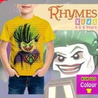 Jual Kaos Tshirt Anak Superhero Joker Lego Murah Murah