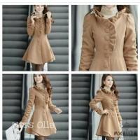 Jual Yoona Choco Blazer bahan Fleece Murah