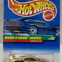 Hot wheels ,Hotwheels Ferrari F40 Gold