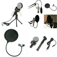 Condenser Microphones SF-930 + pop filter