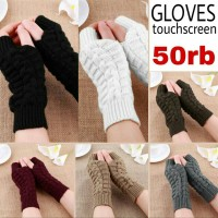 sarung tangan gloves WOL Touchscreen