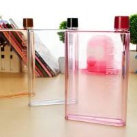 Jual Botol Tempat Minum Bentuk Memo Slim Tipis A5 Letter Murah