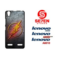 Casing HP Lenovo A6000, A6010, A6000 Plus The flash logo Custom Hardca