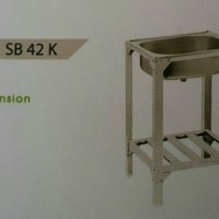 Royal Kitchen Sink SB 42K Bak Cuci Piring Pakai Kaki